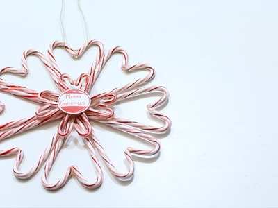 Candy Cane Heart Wreath - 5th DIY of Christmas