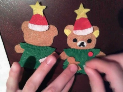 Christmas : How to Make a Rilakkuma in Tree Costume Plush tutorial collab