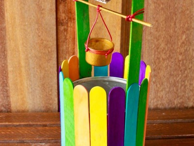 Construct a Mini Colorful Wishing Well - Crafts - Guidecentral