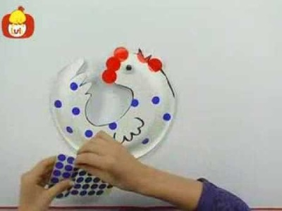 Craft Corner - Frog & Rooster, For Kids