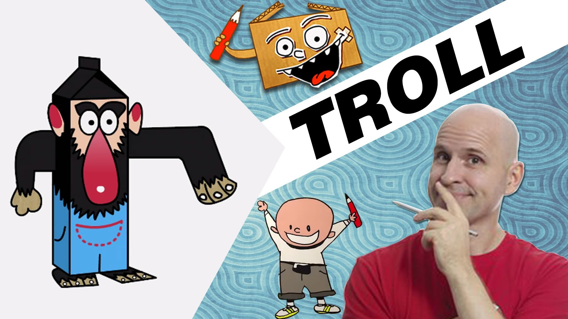 Craft Ideas with Boxes - Troll | DIY on BoxYourSelf