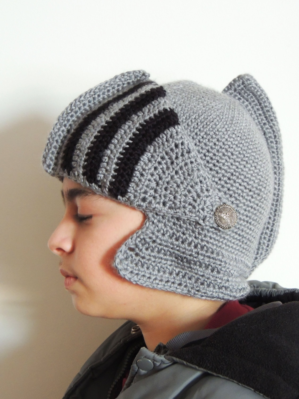 Crochet : Gorro Medieval. Base Posterior