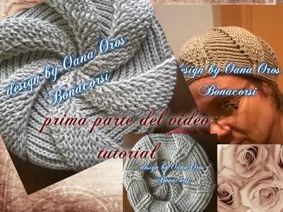 Crochet swirl beret I