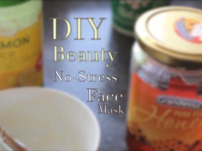 DIY Beauty: No Stress Face Mask