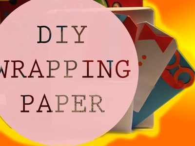 DIY boys. mens Wrapping paper (stopmotion)