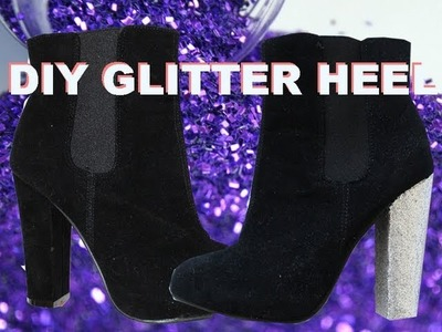 DIY Glitter Heels!!