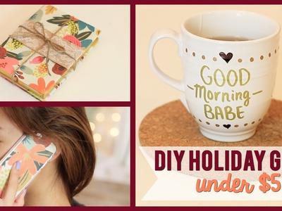 DIY Holiday Gifts (UNDER $5) #WinterWeylieLand | ilikeweylie