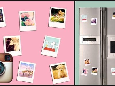 DIY Instagram.Polaroid magnets!! Super simple UNDER 2$