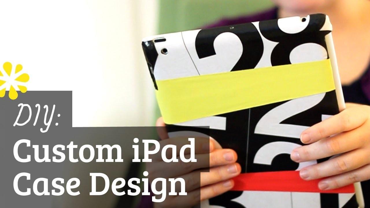 DIY iPad Case Design