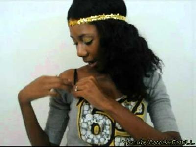. :DIY:.   Meagan Good Sweatshirt(review)