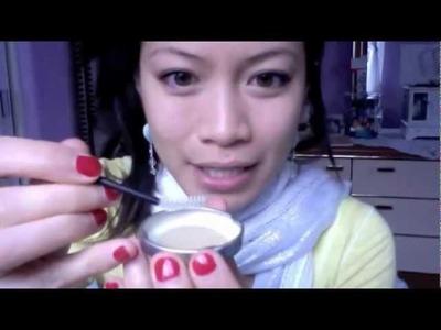 "DIY Organic Eyebrow ""Gel"" w. Ingredients from the Kitchen"