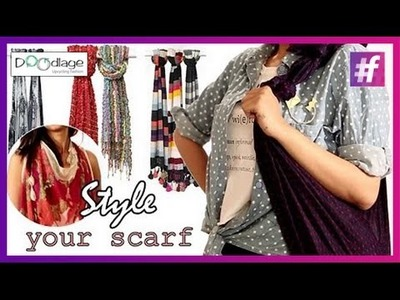 DIY : Reuse and Restyle Old Scarves