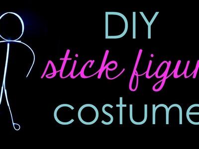 DIY Stick Figure Costume Tutorial
