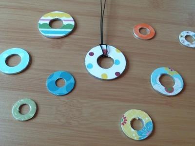 DIY Washer Necklace Set