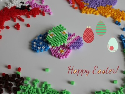 Easter Eggs Pearl Beads Hama Beads Huevos de pascua Speed Art