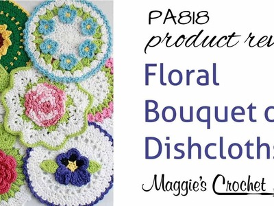 Floral Bouquet of Dishcloths Set Product Review 1 PA818