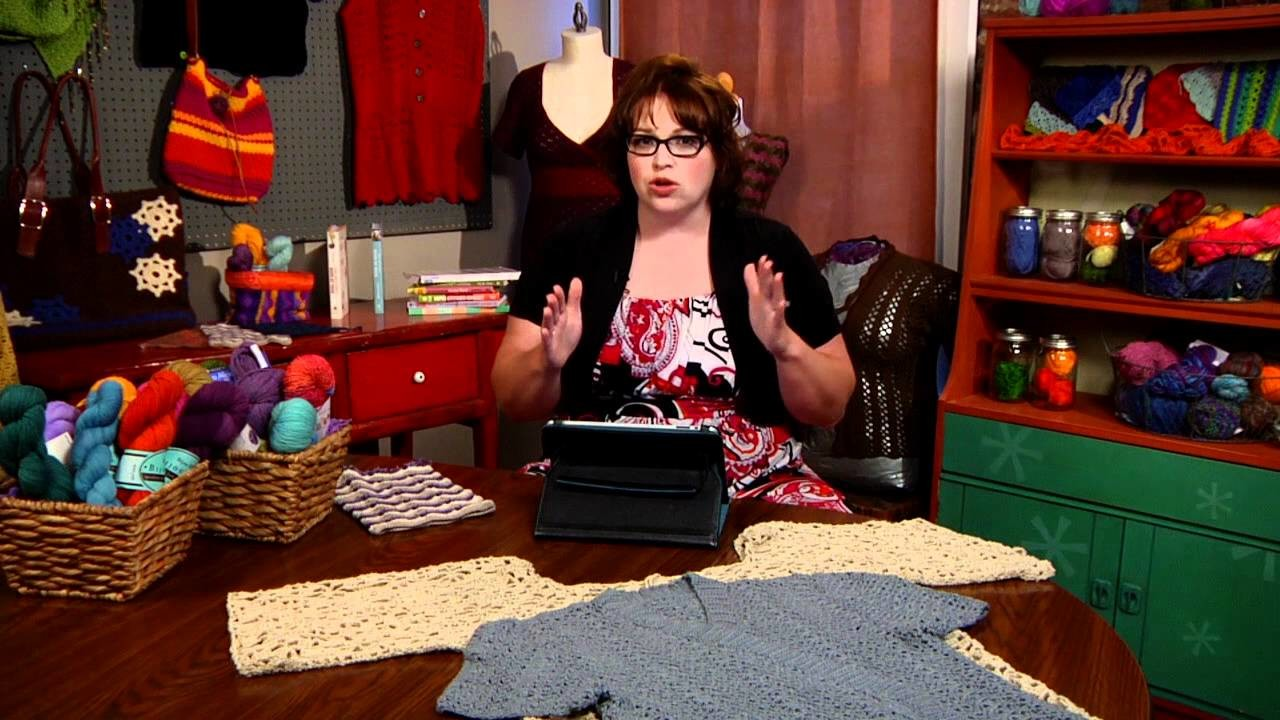 How To: Adjust Shoulder Sizing In Your Crochet Patterns with Marly Bird