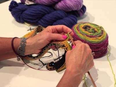 How to Cast off Knitting Loosely : Knitting Lessons