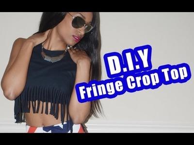 HOW TO: DIY FRINGE CROP TOP