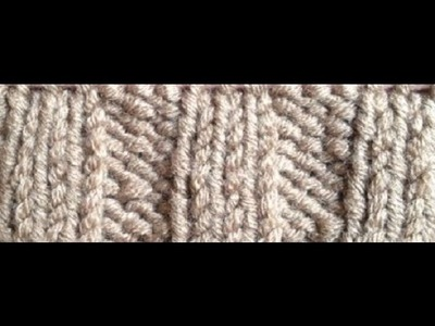How to Knit the Rib or Ribbing Stitch: Knit three Purl three by ThePatterfamily