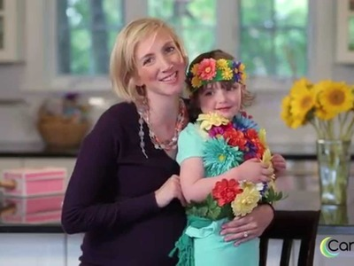 How to Make a Flower Bouquet Costume