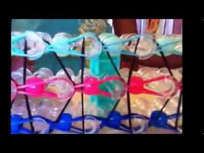 How to make a Triple Single Loom Beads Bracelet