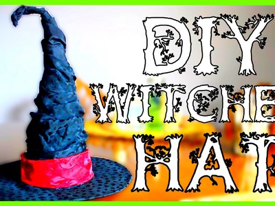 How to make a Witch Hat - Halloween DIY