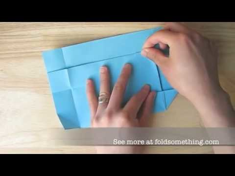 How to make an origami paper envelope (no tape or glue needed)