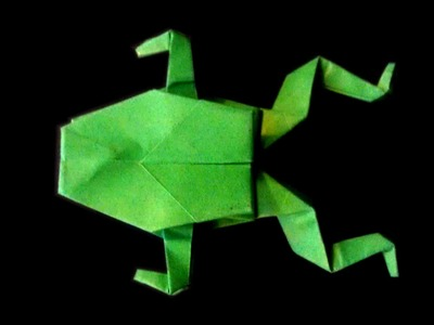 How to make: Origami Frog