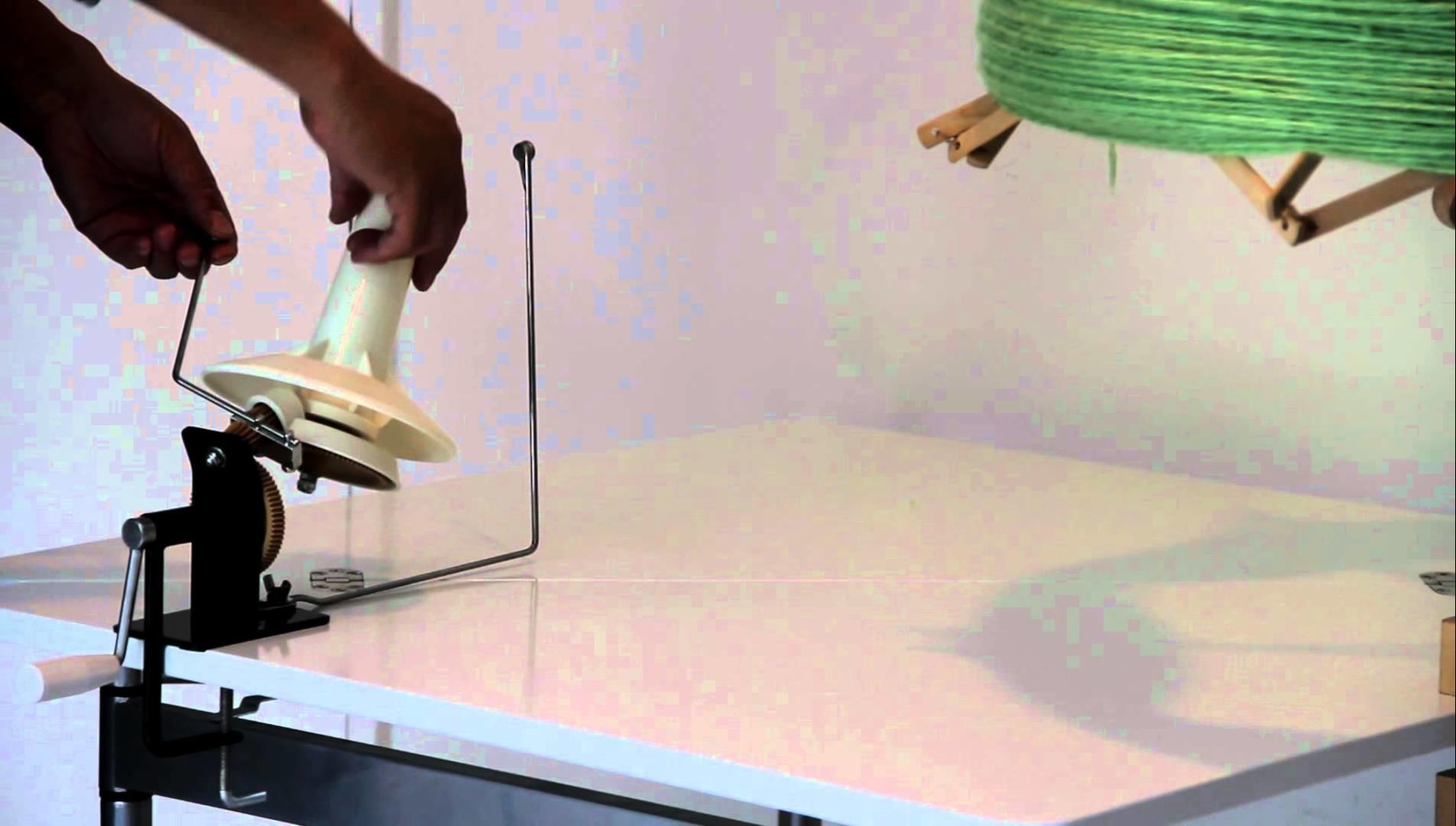 How to Use Jumbo Metal Ball Winder - 11 oz Capacity