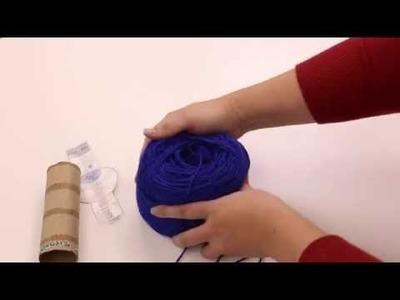 How to Wind a Yarn Ball