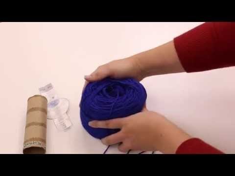 How to Wind a Yarn Ball