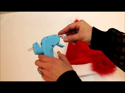 Kay Boutique DIY Tutorial - How To Decorate A Santa Hat