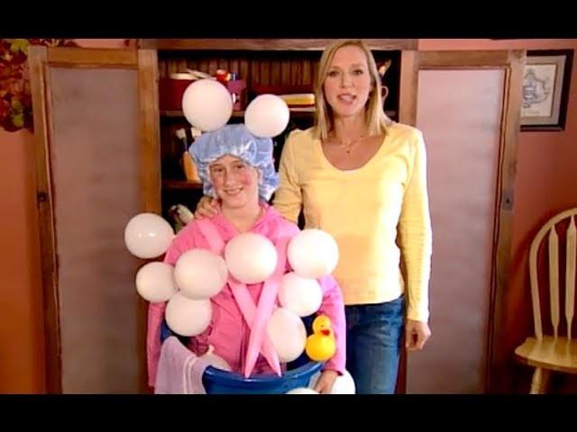 Last Minute Costume: Bubble Bather   Halloween   Babble