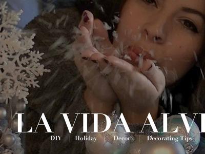 Last Minute DIY Holiday Decor & Decorating Tips