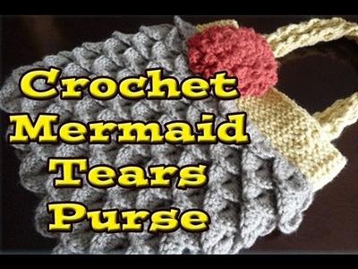 Left Hand Mermaid Tears Purse 2