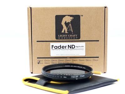 Light Craft Workshop Digi Pro HD Fader ND filter Quick Take Video Review.