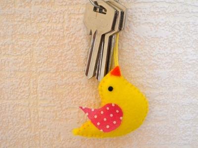 Make a Cute Key Chain Bird - DIY Crafts - Guidecentral