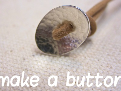 Make a Sterling Silver Button at The Bead Gallery, Honolulu