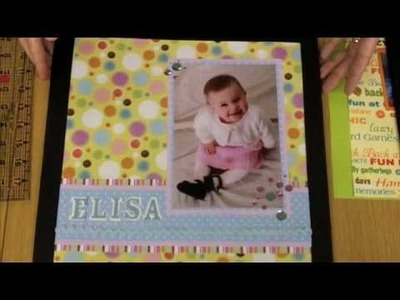 Matting Photos :: Intro to Scrapbooking by Momenta