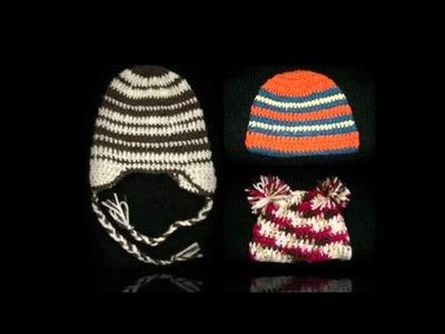 Mindy Moo's New Fall Crocheted Hats
