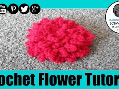 Mums Crochet Flower Tutorial