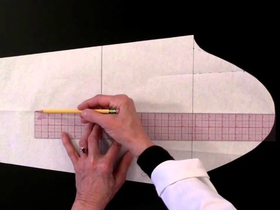 Pattern Making: How to draft a straight sleeve from scratch
