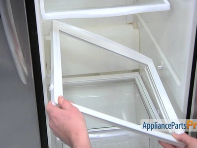 Refrigerator Crisper Cover Support (part #241993101) - How To Replace