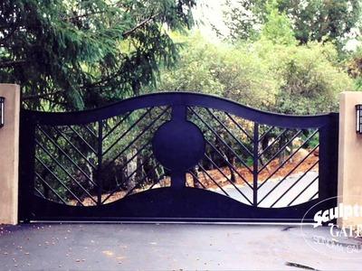 Sculptural Gates - Ornamental Iron Driveway Gate Company
