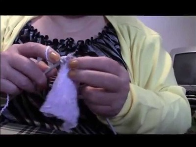 Shirley can sew knitting baby socks with 2 needles part 1 & 2
