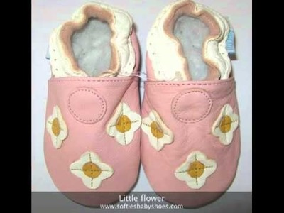 Soft sole leather baby shoes by Softies baby shoes