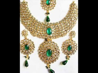Stunning collection Indian Kundan jewelry