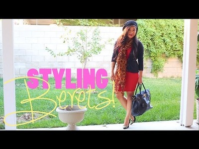 Styling Knit Berets! ♡ 3 Outfits!