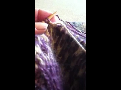 Twined or Two-end Knitting